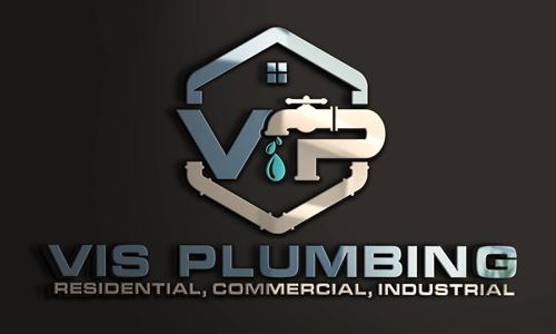 Vis Plumbing Logo